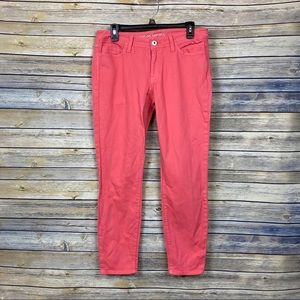 Banana Republic Pink Skinny Jeans